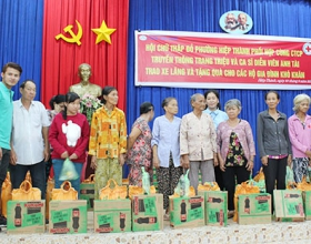 Hiep Thanh Ward: Offering 200 gifts to disadvantaged households